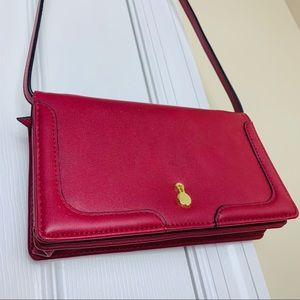 VINTAGE 90s Red Purse